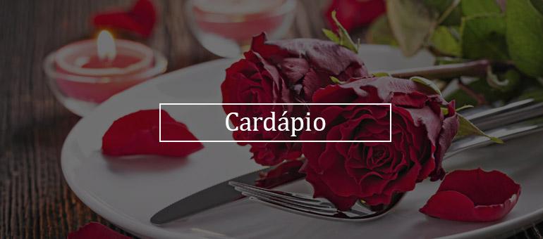 Cardapio - banner